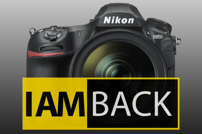 Nikon : I am back
