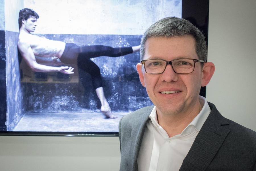 Benoît de Dieuleveult, président de Nikon France