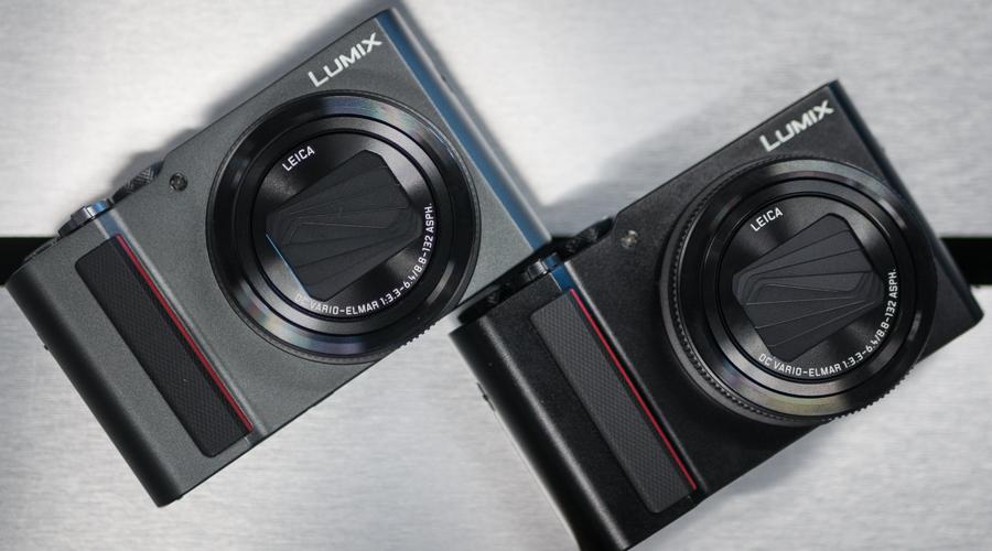Panasonic Lumix TZ200 Gris et Noir
