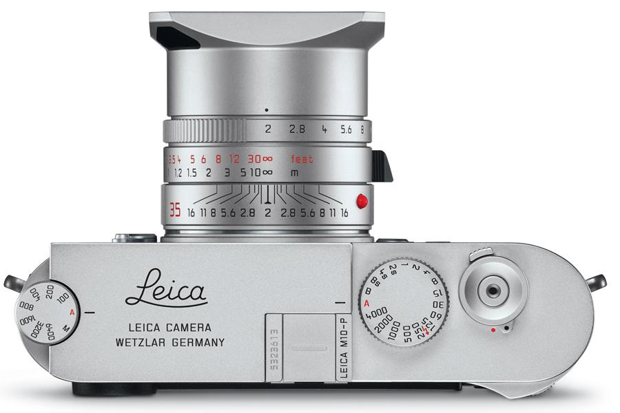 Leic M10-P Top Silver